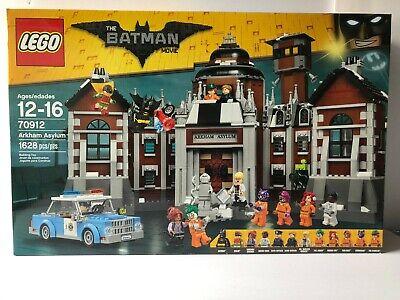 LEGO The Batman Movie Arkham Asylum Set 70912 New, Factory Sealed!