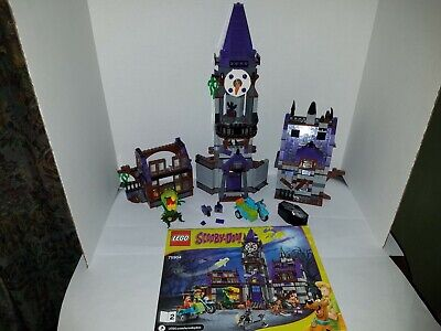 LEGO Scooby-Doo Mystery Mansion 75904 NOT COMPLETE MISSING PIECES READ!