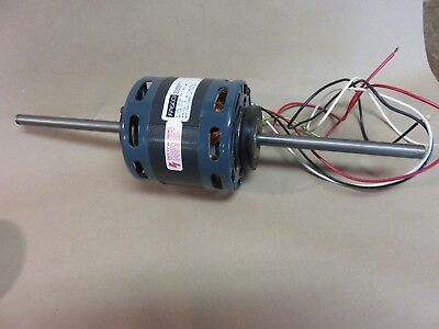 Fasco D337 Electric Motor 115v 18 Hp Part 7108-5191 Double Shaft