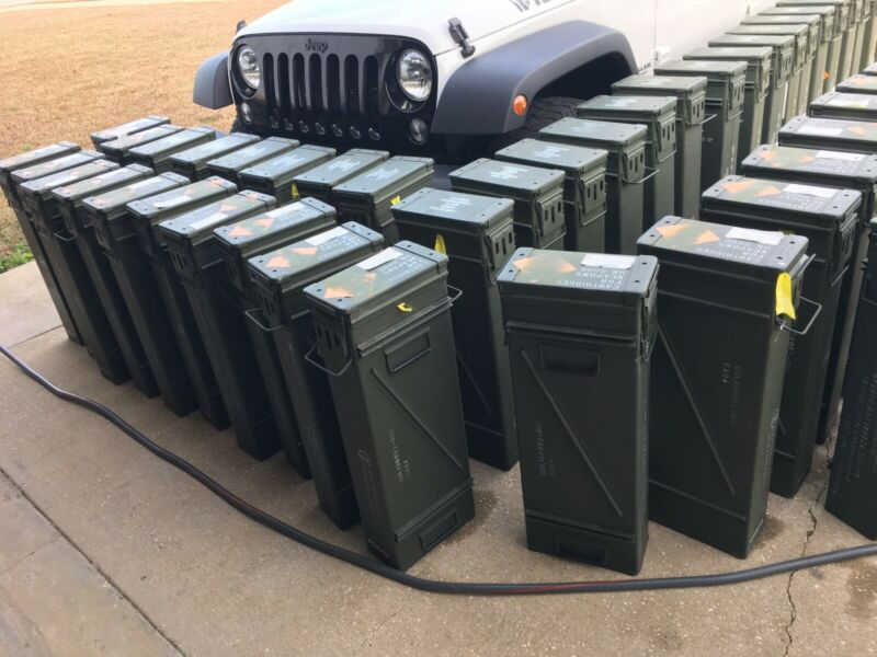 """PA 154 AMMO CAN 120 MM LARGE 31.5"""" H x 12.50"""" D x 6.75"""" W  - Water proof seal"""