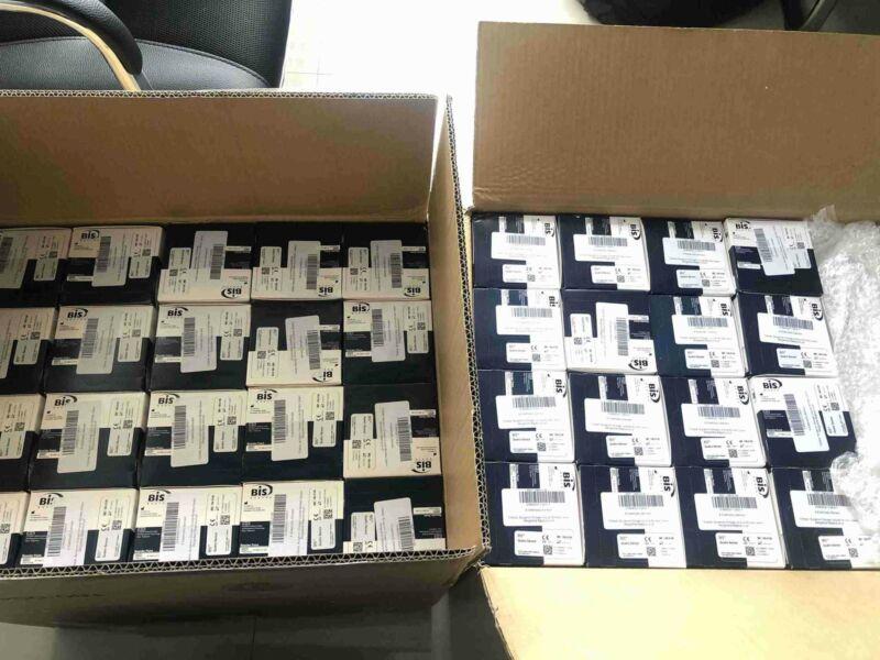 Lot of 25 BIS Quatro Sensor Kit by Covidien 186-0106 Exp 06/2022