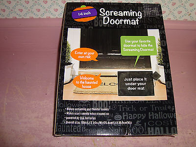 Screaming Doormat 14 inch...Makes Screaming and Thunder Sounds - Screaming Doormat