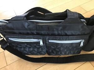 Lug streetcar black crossbody bag small carryon