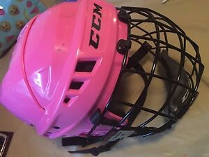 Girls CCM Hockey Helmet