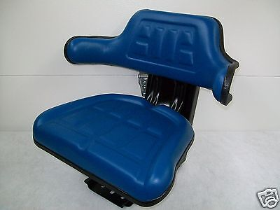 Tractor Seat Ford Bluewaffle Farmtractors Universal Fitspring Suspension Id
