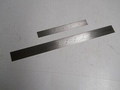 Starrett 1604r Stainless Steel 6 12 Rules New
