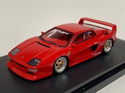 1/64 YM Model Ferrari 512 Testa Rosa Koening in Rosso Cora Red Ltd 299 pcs