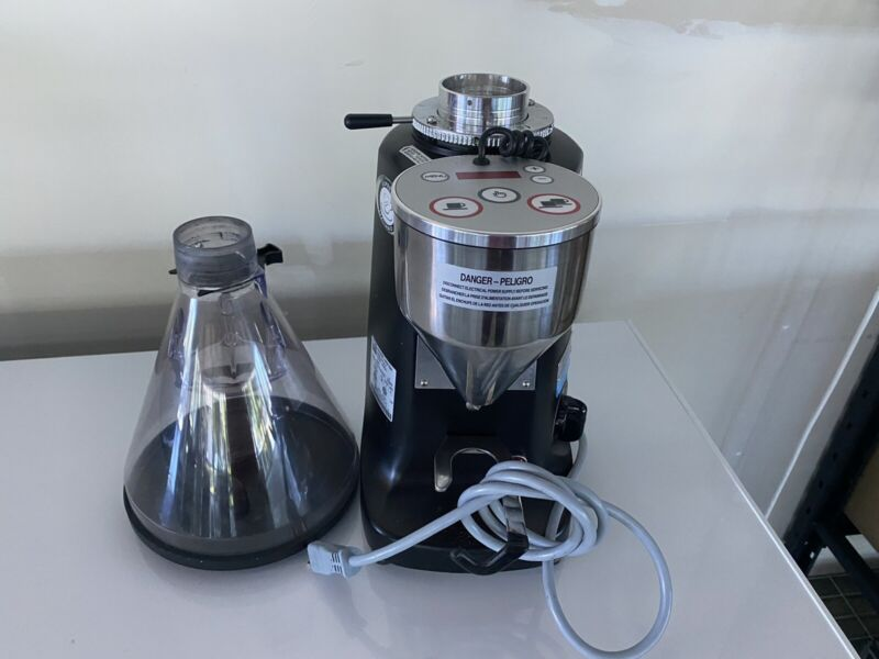 Mazzer Super Jolly ELECTRONIC Espresso Grinder Doserless 64mm Burrs