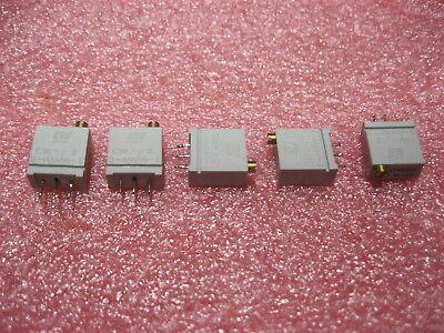 67wr500 Bi Technologies Multi-turn Trimming Potentiometer 500 Ohm 10 Lot Of 5