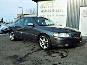 Volvo S60 2006 ***CUIR,TOIT OUVRANT,MAGS***