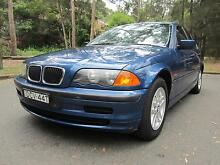 BMW 318i Executive 2000 Sedan in Automatic Riverview Lane Cove Area Preview