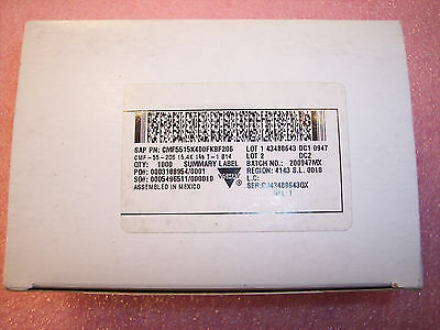 Qty 1000 15.4k Ohm 14w 1 Precision Metal Film Resistors Cmf5515k400fkbf Dale
