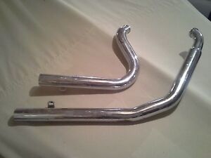 Harley Davidson Exhaust Pipes 2 Styles