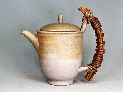 Tokoname Teapot with Vine Handle by Jinshu, #jinshu0072 : D102*H150mm, 480ml