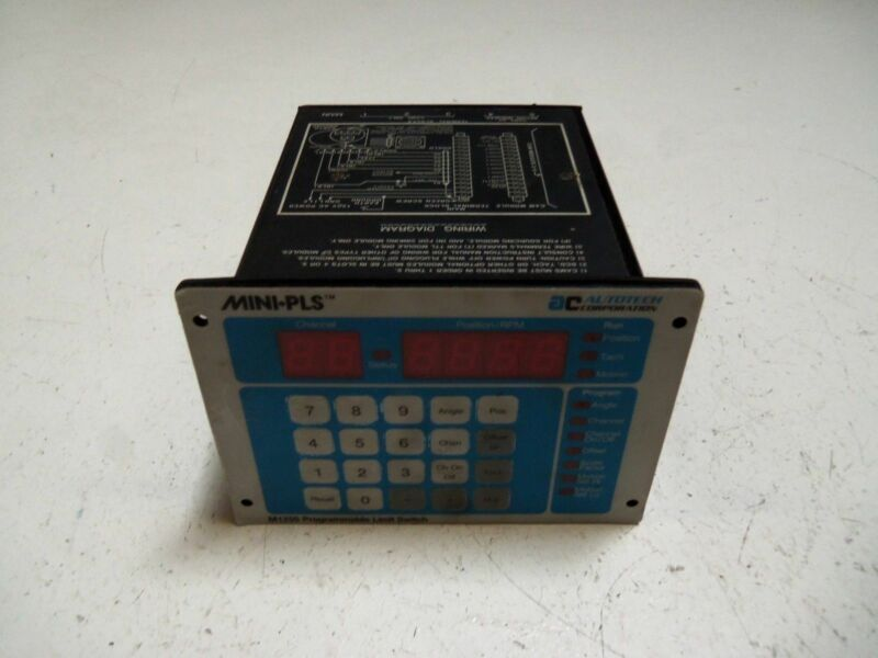 AUTOTECH CONTROLS SAC-M1250-010 PROGRAMMABLE LIMIT SWITCH *AS PICTURED*