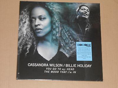 "CASSANDRA WILSON / BILLIE HOLIDAY Split 10"""