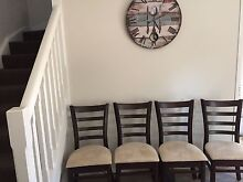 Rustic / provincial / vintage dining chairs x 6 great condition Beaumont Hills The Hills District Preview