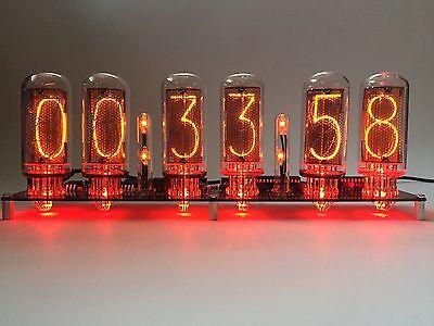 IN-18 Nixie Tube Clock RGB. No Tube