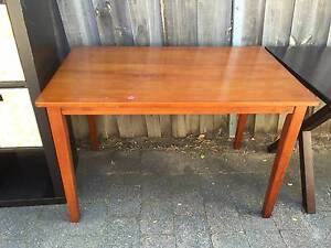 Brown wooden dining table Lane Cove North Lane Cove Area Preview