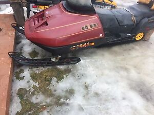 1981 citation red 88 ski do 503cc have ownerships for both