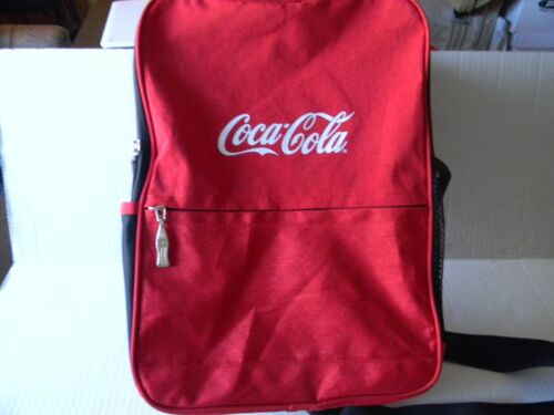 COCA COLA SLING SHOULDER BACKPACK WITH 5 COMPARTMENTS AND ADJUSTABLE STRAP
