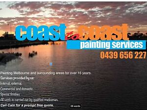 Coast 2 coast painting services Sandringham Bayside Area Preview