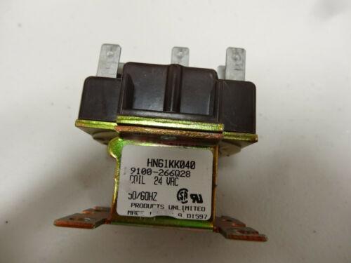"Tyco Electronics Contactor 9100-266Q28; HN61KK040; 24VAC 50/60 HZ ----""USED"""