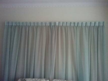 Linen look Sheer Curtains
