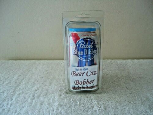 """"""" NIP """" Pabst Blue Ribbon Beer Can Bobber """" GREAT COLLECTIBLE / GIFT ITEM """""""