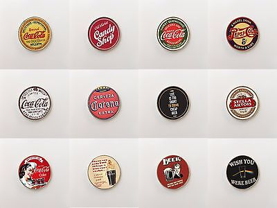 Beverages Drinks Classic Quotes Funny Retro Cupboard Wardrobe Fridge Magnets