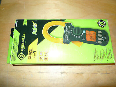Greenlee Cmi-2000 Industrial Acdc True Rms Clamp Meter