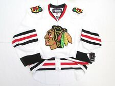 CHICAGO BLACKHAWKS AUTHENTIC AWAY WHITE REEBOK EDGE 2.0 7287 HOCKEY JERSEY
