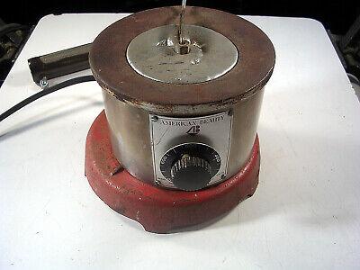 American Beauty General Purpose Solder Pot Model 600 120v Volts600w Soldering