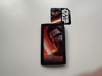 Official Star Wars VII The Force Awakens Kylo Ren 3D Trifold Wallet