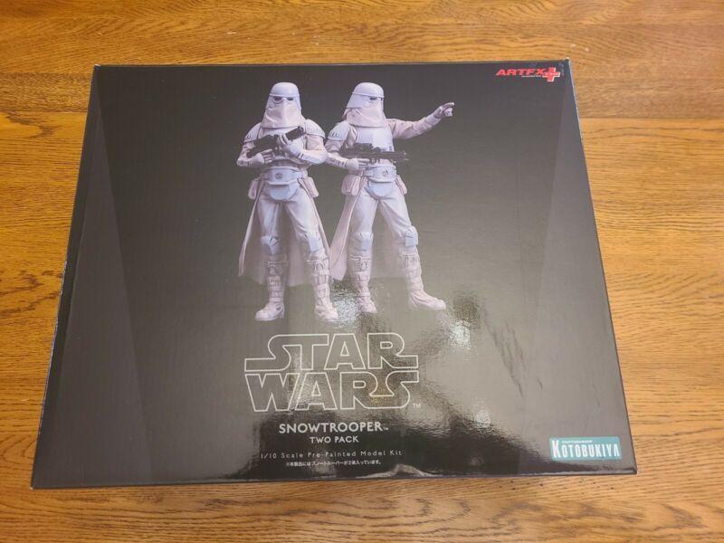 Star Wars Snowtrooper 2 Pack Figures ARTFX  Kotobukiya 1/10 Scale