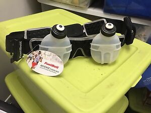 Fuel belt water containers