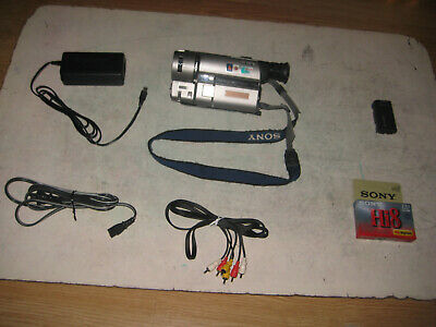 VERY RARE SONY CCD-TRV65 HI8 8MM VIDEO 8MM NTSC CAMCORDER PLAYER. MADE IN JAPAN.