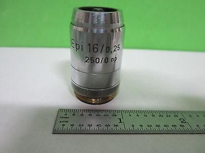 Microscope Part Objective Reichert Austria Epi 16x Optics As Is Bint3-43