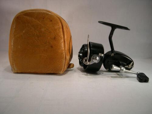 Vintage Garcia Mitchell 300 Fishing Reel w Original Leather Case