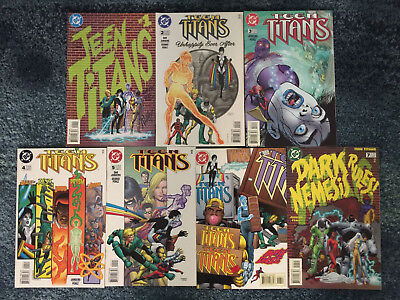 TEEN TITANS #1,2,3,4,5,6,7 1996 DC COMICS HIGH GRADE VFN/NM SET OF 7