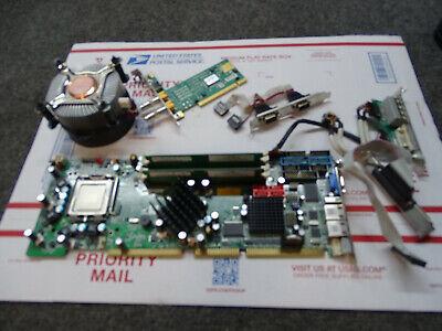 Single Board Computer Wsb-9454dvi-r11 W Intel Core Duo 2.13ghz Cpu 1gb Ram