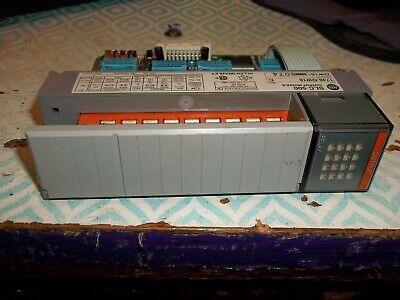 Allen Bradley 1746-0w16 1746-ow16 Ser C Slc500 Output Module Plc Gray Tag D1g2