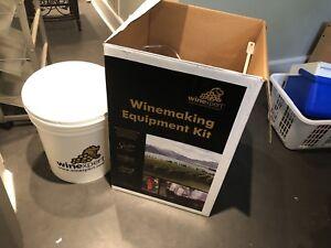 Wine making kit supplies
