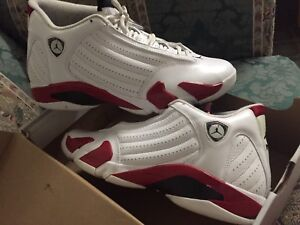 Jordan's Candy Cane 14s size 11