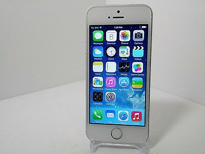 Apple iPhone 5s - 16GB - Silver (Verizon/Unlocked) Smartphone Clean ESN