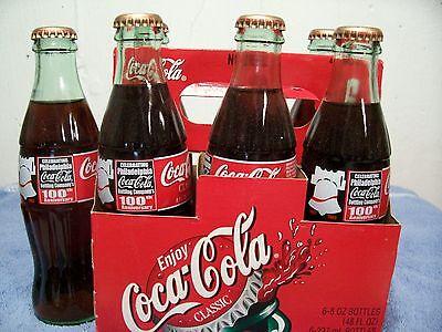 Ccbc 100 Years Philadelphia  Pennsylvania   6 Pack 2002 Coca Cola  Bottles