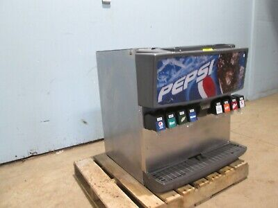 Servend Md-200 Commercial Hd Counter-top Lighted 8 Heads Soda Wice Dispenser