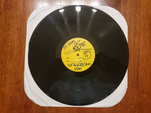 SUBLIME LIVE TEST PRESS LP STAND BY YOUR VAN 12 PICTURE DISC BRADLEY NOWELL  - $199.99