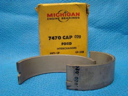 1960 - 81 Ford Truck 401 475 477 534 750 To 1100 Series Rod Bearing Set 020