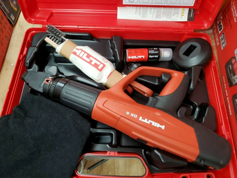 Hilti DX 5  Automatic Powder-Actuated Tool With Case